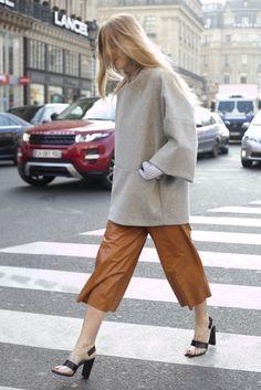 Street Style at Paris Fashion Week Fall 2013