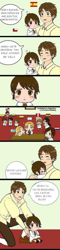 Latin Hetalia, Memes, Hetalia Fanart, Fandom, Hetalia Axis Powers, Mundo Comic, Chibi, Mexico, Teddy Bear