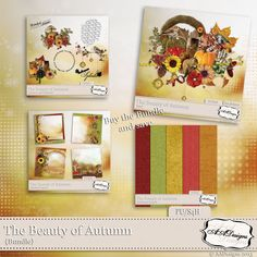 The Beauty of Autumn - Bundle by AADesigns
