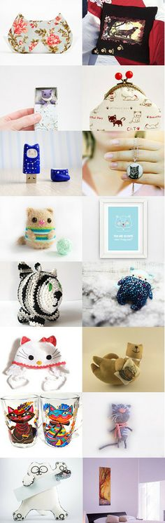 Good Kitten! by Elena on Etsy--Pinned with TreasuryPin.com