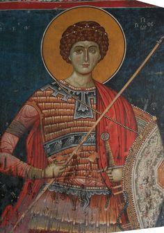View album on Yandex. Fresco, Byzantine Icons, Byzantine Art, Tempera, Saints And Soldiers, Boys Dinosaur Bedroom, Cartoon Wall, Religious Paintings, Best Icons