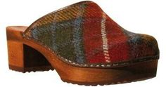 Gurli clog (color: Multi Color) #sanita #clogs #shoes by francisca...LOVE quirky shoes!