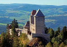 Kašperk gothic castle (South-West Bohemia), Czechia