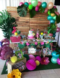 Flamingo Party Birthday Party Ideas | Photo 1 of 23 | Catch My Party