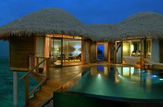 Enjoy the uncomparable luxury at Constance Halaveli, Maldives. Stay in water or beach villas in this Leading Hotel of the World set in the Maldives. Hotels And Resorts, Best Hotels, Maldives Hotels, Maldives Honeymoon, Luxury Resorts, Water Villa, Playa Beach, Overwater Bungalows, Leading Hotels