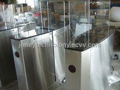 Organic Glass Pan Sliding Gate turnstile barrier (BHA812) - China ;sliding turnstile;sliding barrier, OEM/ODM