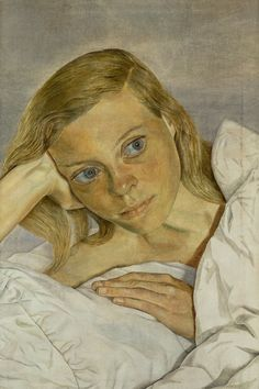 Lucien Freud painted eyes with depth