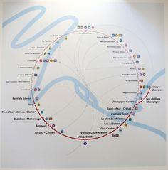 Future Map: Grand Paris Express Line 15 Circular Map