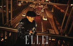 Lee Joon Gi is the latest star to be featured in the fashion publication Elle Magazine. For the recent photo shoot, Lee Jun Ki wore stylish winter fashion items including a flower print coat, a fur jacket, and more. Lee Jun Ki, Lee Joongi, Arang And The Magistrate, Wang So, Drama Funny, Pop Photos, Elle Magazine, Joon Gi, Flower Boys