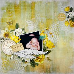Just too Obsessed Beach Scrapbook Layouts, Scrapbooking Layouts, Scrapbook Pages, Mixed Media Scrapbooking, Wedding Scrapbook, Photo Journal, Wedding Album, Layout Inspiration, Mini Albums