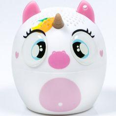 Pocket sized Bluetooth unicorn speaker   Mini Enceinte Bluetooth Licorne: https://www.enjoymedia.ch/unicorn-bluetooth-mini-speaker-p-5960.html