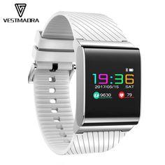 Bluetooth Smart Watches Heart Rate Monitor Wristband Uhoofit Plus Waterproof Wristband Blood Pressure Oxygen Fitness Bracelet Latest Watches, Watches For Men, Smart Bracelet, Bracelet Watch, Blood Pressure Watch, Activity Monitor, Ios, Bluetooth Watch, Fitness Bracelet