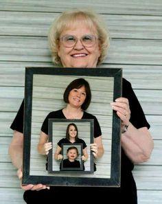 Amazing family photo idea!  (Not my original picture)