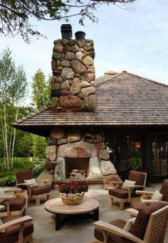 36 The Best Outdoor Fireplace Design Ideas