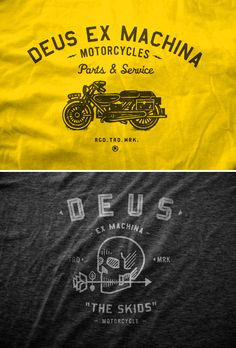 Neighborhood Studios for Deus Ex Machina Motorcycles