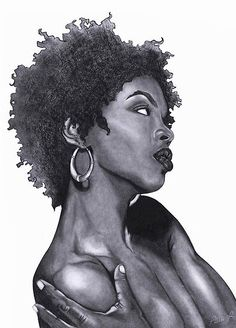 Lauryn Hill  Large Fine Art Print by thatArtista on Etsy, $45.00