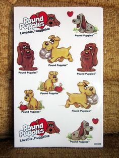 Pound Puppies Stickers