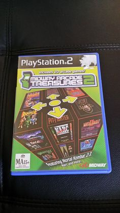 Midway arcade 20 arcade games ps2 game - PAL complete  Fast FREE postage
