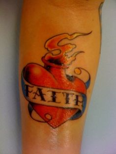 Faith Tattoo Designs For Men: The Cool Faith Tattoo Ideas And Meaning For Men On Arm ~ tattooeve.com Tattoo Design Inspiration