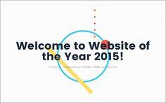 2015年このWebサイトのデザインアイデアは見逃せないWebsite of the Year -日本からも2つのサイトが受賞 via Pocket http://ift.tt/1QpI5NG