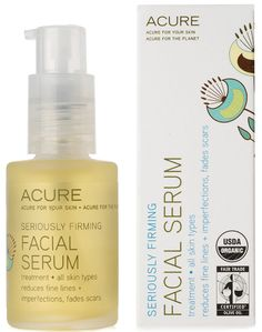 Acure Organics Facial Serum Seriously Firming $16.65 Vitacost