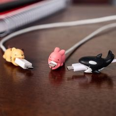 Replacing your phone charging cable every few months can get really annoying! Protect your charger cable with this super-cute Baby Animals Cable Protector. Cable Bite, Whale Mobile, Cord Protector, Special Birthday Gifts, Rubber Material, Animal Design, Cute Baby Animals, Pet Toys, Funny Gifts