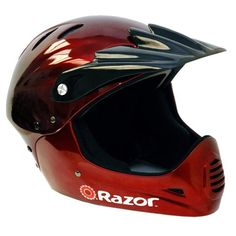 Razor Full Face Youth Helmet Black Cherry * You can get additional details at the image link.
