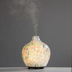 LUMIDA Aroma elektronischer Aroma-Diffuser Perlmutt-Glas H. ca. 15cm online bestellen bei QVC.de