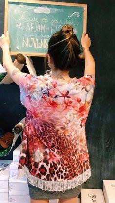 Kimono 🌸❤️ #lojaamei #kimono #franja #verão #praia #novidades