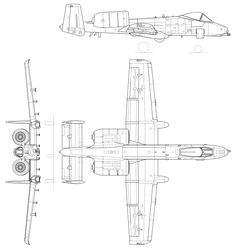 Orthographically projected diagram of the Aviation Engineering, Aviation Art, Fighter Aircraft, Fighter Jets, Airplane Coloring Pages, Balsa Wood Models, Bomber Plane, Military Drawings, Airplane Design