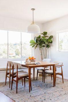 Blue Dining Room Photos