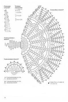 Best 12 33 Ideas for crochet doll dress barbie patterns – SkillOfKing. Filet Crochet, Crochet Diagram, Crochet Chart, Thread Crochet, Crochet Motif, Crochet Flowers, Crochet Stitches, Crochet Doll Dress, Crochet Barbie Clothes