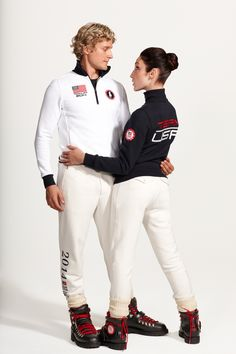 Charlie White and Meryl Davis