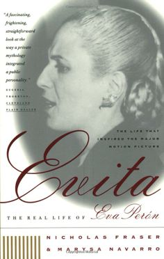 Evita: The Real Life of Eva Peron: Nicholas Fraser, Marysa Navarro #Books #Biography #Eva_Peron