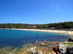 Beautiful Balmoral Beach ~ Six Aussie beaches perfect for families.  www.parkmyvan.com.au #ParkMyVan #Australia #Travel #RoadTrip #Backpacking #VanHire #CaravanHire