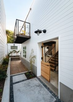 White-washed wood remodel in San Francisco