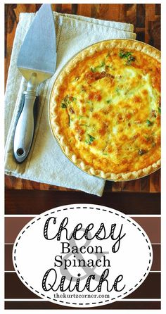 This delicious recipe will definitely have you come back for more. Have it for breakfast, lunch, or dinner. This quiche is perfect for any time of the day!