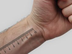 tattoo meter: that is one steady handed tattoo artist right there.