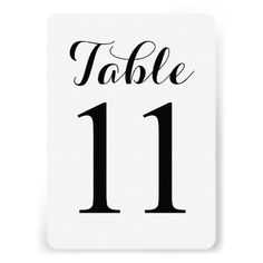 ShoppingModern Script Table 11 | Table Numbers CardYes I can say you are on right site we just collected best shopping store that have