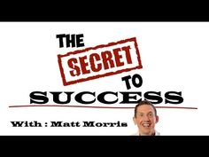 Matt Morris' Secret To Success[VIDEO] | ETIENOETUK.COM