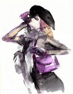 Fashionnista |  Sylvia Baldeva  #illustration