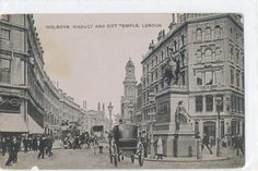 Holborn viaduct & City Temple