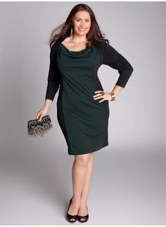 Obsessed with this Nicole Dress from IGIGI in Parisian Green - so chic!
