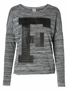 FAST L/S TOP, Medium Grey Melange, main