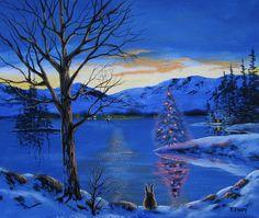 Tom Hoy  —  Lake Tahoe Christmas (900×760)