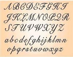 Alphabet Fabric Roundup — Spoonflower   Cursive letters, Cursive ...