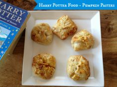 A simple and tasty version of Pumpkin pasties as eaten by the characters of Harry Potter Perfect if you are having a Harry Potter party