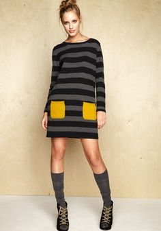I love this idea.  I would like to find some long sweaters and use some of my old wool sweaters to add detailing like pockets and patches.
