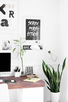 home office decor Workspace Inspiration, Interior Inspiration, Office Workspace, Office Decor, Office Ideas, Office Inspo, Office Spaces, Creative Office, Home Office Design
