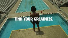 Nike Find Your Greatness Diver